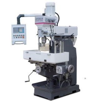 Optimum/Optimill MT50L Boor-freesmachine incl. digitale uitlezing 400 volt
